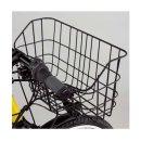 YAMAHA (ヤマハ) PAS Brace XL (ブレイス XL) 用 フロントバスケット + 専用フロントキャリアセット 【前カゴ】【荷台】