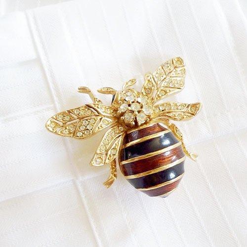 蜂のビンテージブローチ CINER(サイナー)