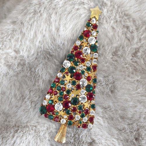 クリスマスツリーのブローチ EISENBERG(...