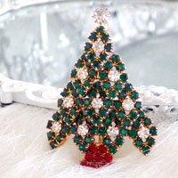 クリスマスツリーのブローチ 2 EISENBE...