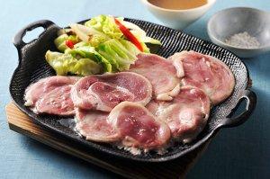 【K-166】鴨のオイルしゃぶ焼きセット(モモ肉)3〜4人前