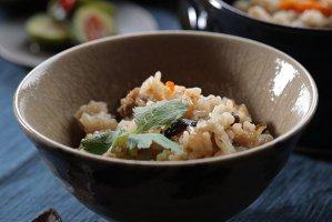 【K-152】鴨めしセット(炊き込みご飯の素)3合のお米にスープ、お肉、野菜を入れて炊くだけの簡単調理!