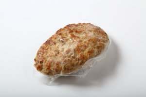 【C-822】(2月〜9月限定販売)本鴨ハンバーグ(単品)湯せんするだけの簡単調理!ソースのいらない鴨肉の旨みと溢れ出る肉汁。パテの完成度が高い、生地そのもので勝負する本鴨100%ハンバーグ!
