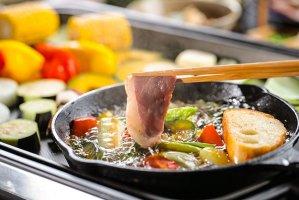 【早割商品】K-172鴨のオイルしゃぶ焼きセット(本鴨ロース肉)3〜4人前