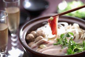 【早割商品】【K-141】【野菜付冷蔵便】合鴨しゃぶ鍋セット(2〜3人前)「日本一旨いお取り寄せ」辛口ランキング185の鍋編で1位に選ばれました