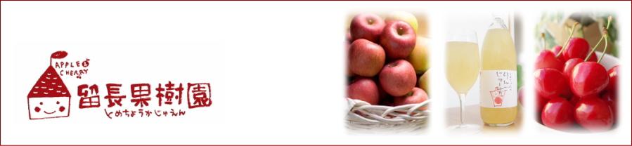 青森県南部町蜜入りりんご「留長果樹園」産地直送!『りんご・さくらんぼ』