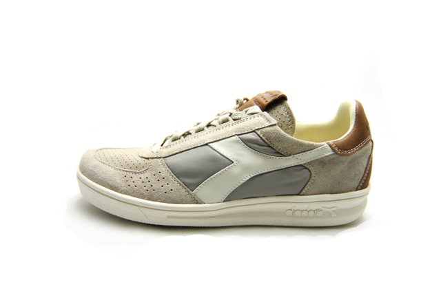 【SALE 20%OFF】【Made in Italy】DIADORA HERITAGE(ディアドラ ヘリテージ) B.ELITE GREY