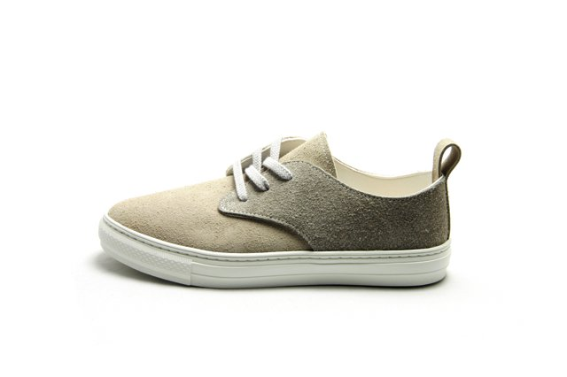 【SALE 20%OFF】【Made in Japan】buddy Corgi Low  Patchy Pattern Gray x D.Gray
