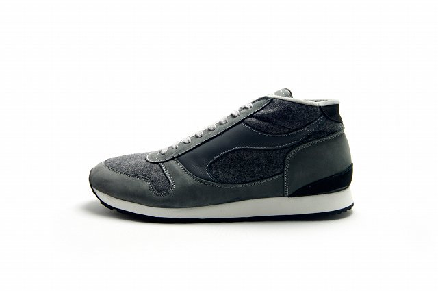 【SALE 20%OFF】【送料無料】【Made in ENGLAND】Walsh (ウォルシュ)Challenger HAINSWORTH MELTON GREY【2016 F/W…