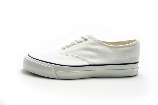 【Made in Japan】ASAHI M014 キャンバス スニーカーWHITE