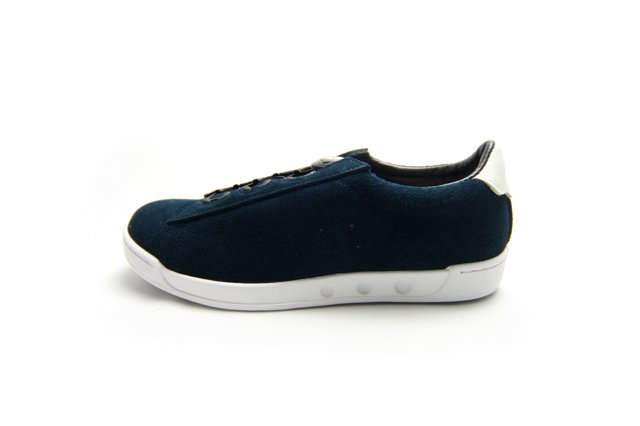 【Made in Japan】ptarmigan ターミガン SUEDE COURT SHOSE NVY