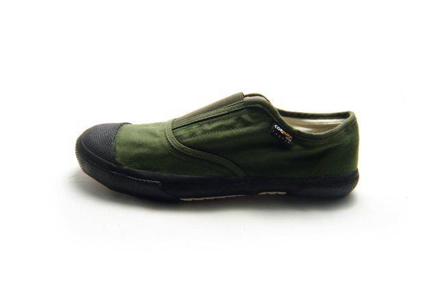 REPRODUCTION OF FOUND ITALIAN MILITARY TRAINER 3000TF OLIVE【2017 A/W】