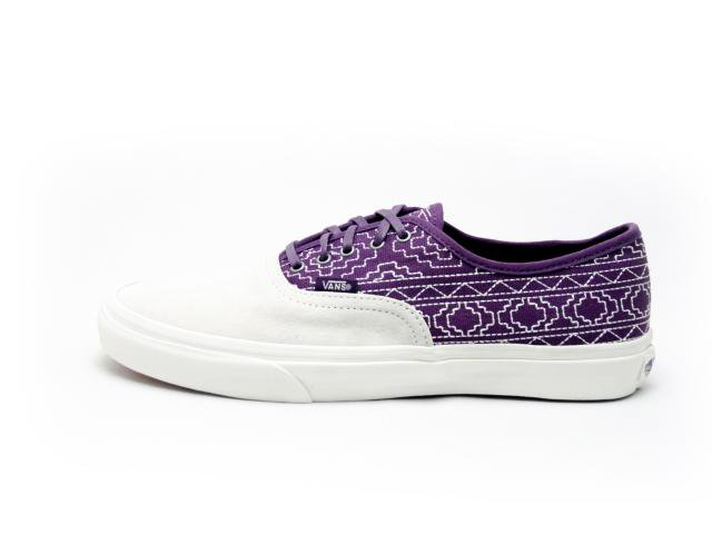 【CALIFORNIA COLLECTION】VANS  AUTHENTIC SLIM ca バンズ オーセンテック native blackberry
