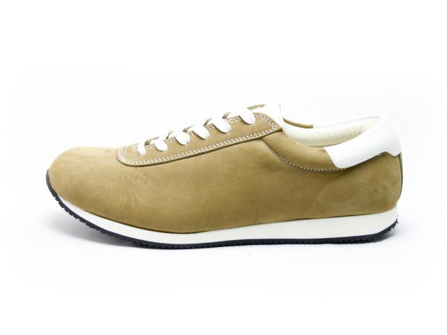 【Made in Japan】blueover  mikey nubuck  beige   ブルーオーバー