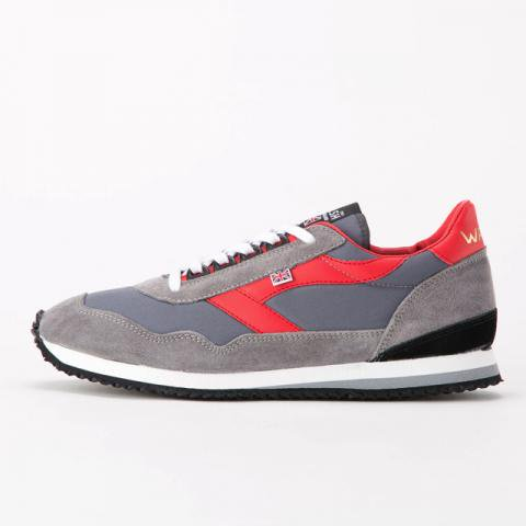 【Made in ENGLAND】Walsh (ウォルシュ) ENSIGN GREY/RED