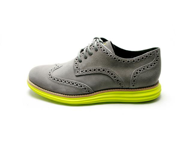 COLE HAAN LUNARGRAND WING TIP  コール ハーン ルナグランド ウィング チップ CHRCL GRY