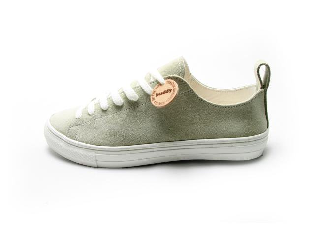 【【SALE 20%OFF】レディースサイズ】【Made in Japan】buddy bull terrier Gray suede