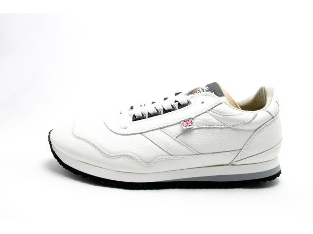 【SALE 20%OFF】【送料無料】【Made in ENGLAND】Walsh ENSIGN LHA WHITE ウォルシュ エンサイン レザー