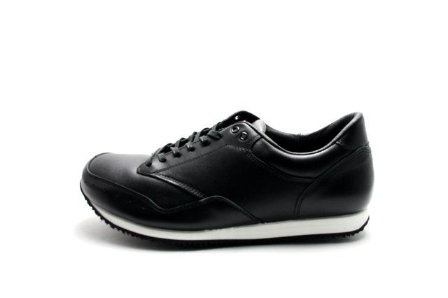 【SALE 20%OFF】【Made in Japan】blueover(ブルーオーバー) Marty smooth leather Black