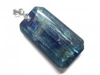★【カイヤナイト】藍晶石★天然石ペンダント:KY-45543