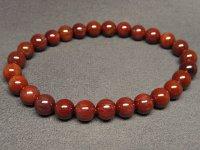 g260円★濃密【レッドルチル】紅針水晶ブレスレットS★6.5mm:RR-76908