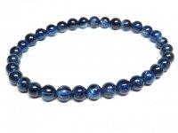 g1000円最高級★【カイヤナイト】藍晶石☆天然石ブレスレットM★6mm:KY-69366
