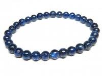 g1000円最高級★【カイヤナイト】藍晶石☆天然石ブレスレットM★6mm:KY-69355