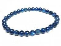 g1000円最高級★【カイヤナイト】藍晶石☆天然石ブレスレットS★5.5mm:KY-69345