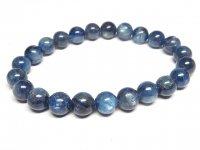 g260円★【カイヤナイト】藍晶石☆天然石ブレスレットS★8mm:KY-77947
