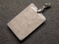 ★【セリサイト・イン・クォーツ】絹雲母★天然石ペンダント:SI-83888