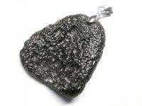 ★【テクタイト】隕石★天然石ペンダント:TE-87511