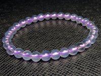 レア品g1700円★【スコロライト】紫水晶☆天然石ブレスレットM★6mm:SCO-16751