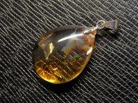 ★【シトリン】黄水晶★天然石ペンダント:CT-53034