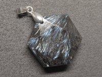 ヘキサグラム★【ヌーマイト】六芒星★天然石ペンダント:NU-56772