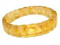 g200円★金字塔【シトリン】黄水晶★天然石バングルM:CT-58188