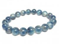 g340円★【カイヤナイト】藍晶石☆天然石ブレスレットS★9mm:KY-25099