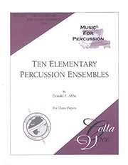 Ten Elementary Percussion Ensembles for Percussion Trio/10の練習曲集(打楽器3重奏)
