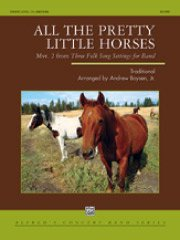 All the Pretty Little Horses (Mvt. 2 from Three Folk Song Settings for Band)/可愛い仔馬たち