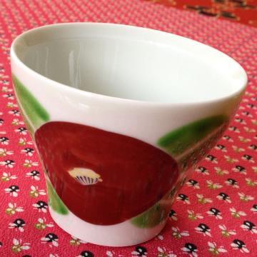 新茶碗 赤椿