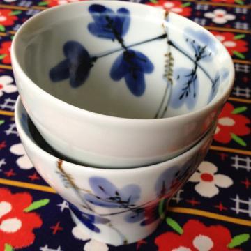 新茶碗 しだ紋