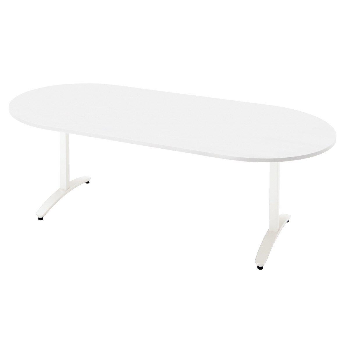 プラス 会議テーブル nn-2110tao【t字脚アジャスター】【配線孔なし