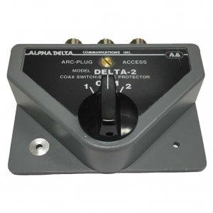 (アルファデルタ) ALPHA DELTA COAXIAL SWITCH 2回路 同軸切替器