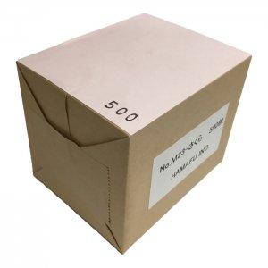 No.M23-sakura  さくら色両面無地サンクスカード(非対称・二つ折り可)・ 色上質・最厚口 (91mmx110mm) 【500枚】