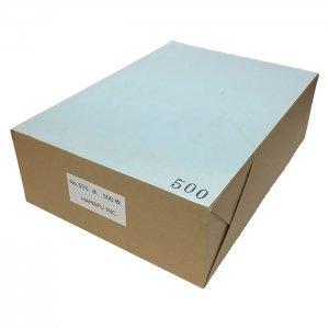 NO.555  色上質 最厚口 【水色】 A4ミシン目加工紙(4分割) 500枚 DMやサンクスカードに最適