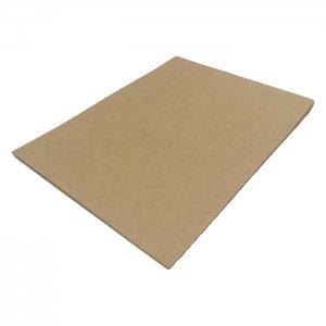 No.MC20-180-10  往復ハガキ仕様・クラフト紙無地ハガキ厚手 180kg相当 (200x148) 10枚入り しっかりとした厚みです!