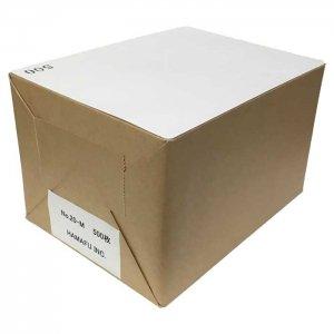 往復ハガキ仕様両面白色無地ハガキ厚手【角丸】 国産上質紙180kg (200x148) 500枚しっかりとした厚み!