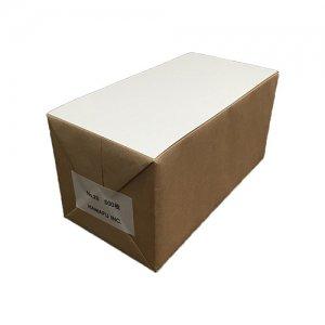 No.28  白色両面無地ハガキ厚手縦長(120x235)180kg 500枚 情報量の多いDMに最適!