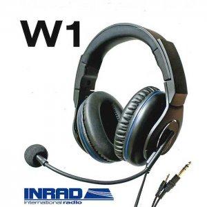 INRAD W1 Headsets 通信機用ヘッドセット 【送料無料】
