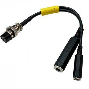 INRAD W1 Headsets 通信機用ヘッドセット用 マイクアダプター YAESU 8ピン