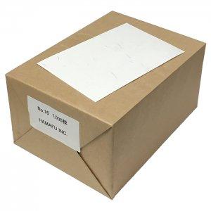 No.16  和紙調両面無地ハガキ(しこくてんれい)1000枚 100x148 135kg